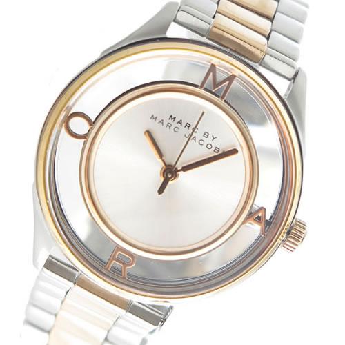 マーク バイ マークジェイコブス クオーツ ユニセックス 腕時計 MBM3436 シルバー/スケルトン></a><p class=blog_products_name