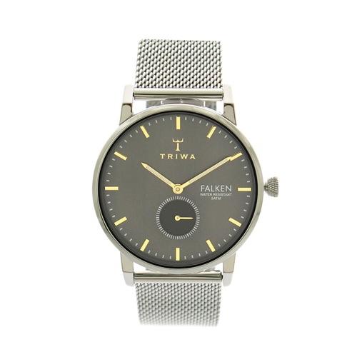 トリワ TRIWA 腕時計 メンズ ME021212 クォーツ グレー シルバー></a><p class=blog_products_name