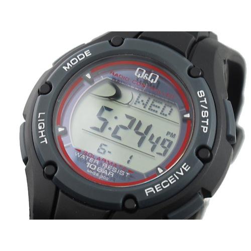 シチズン キューアンドキュー Q&Q 電波 ソーラー 腕時計 MHS6-300