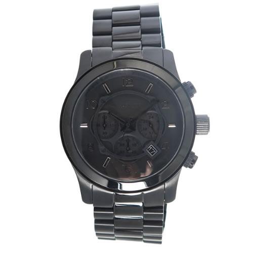 マイケルコース クオーツ メンズ 腕時計 MK8157 ブラック></a><p class=blog_products_name