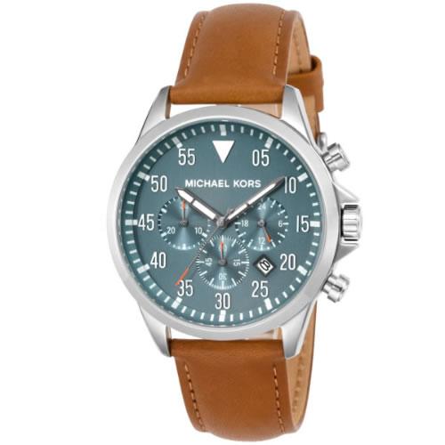 マイケル コース ゲージ クロノ クオーツ メンズ 腕時計 MK8490 ブルー></a><p class=blog_products_name