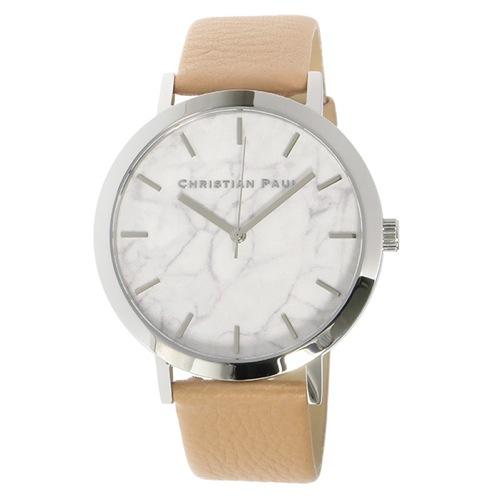 クリスチャンポール マーブル AIRLIE ユニセックス 腕時計 MR-04 ホワイト