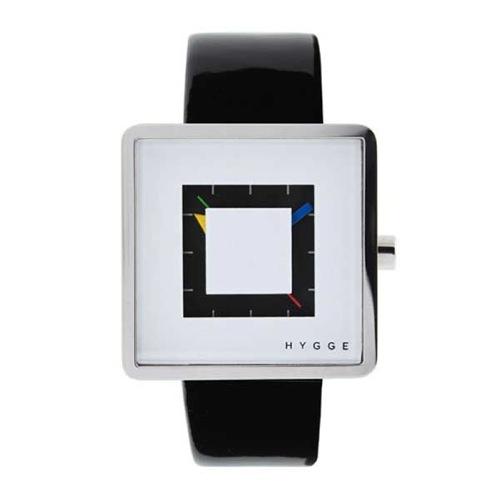 ピーオーエス POS ヒュッゲ クオーツ メンズ 腕時計 MSL2089BKWH ホワイト