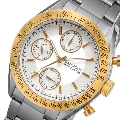 ドルチェ セグレート DOLCE SEGRETO クオーツ メンズ 腕時計 MSM201SV ホワイト