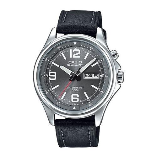 カシオ CASIO スタンダード クオーツ メンズ 腕時計 MTP-E201L-8B ブラック