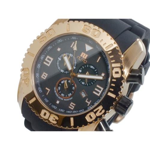 ヌーティッド NUTID MATT BULL クオーツ メンズ クロノ 腕時計 N-1403M-A PG/BK