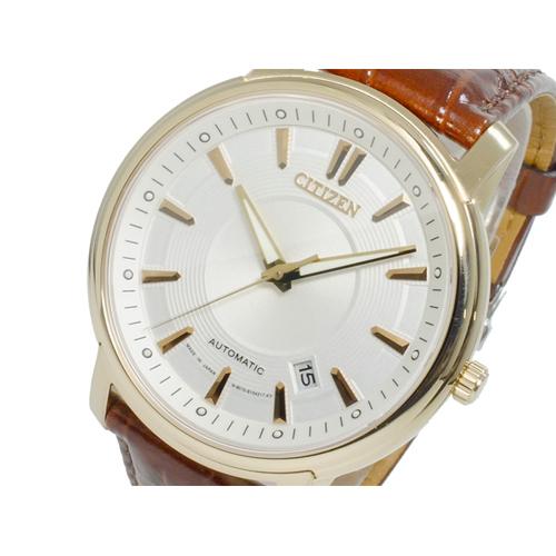 シチズン CITIZEN メカニカル 自動巻き メンズ 腕時計 NB0002-06A