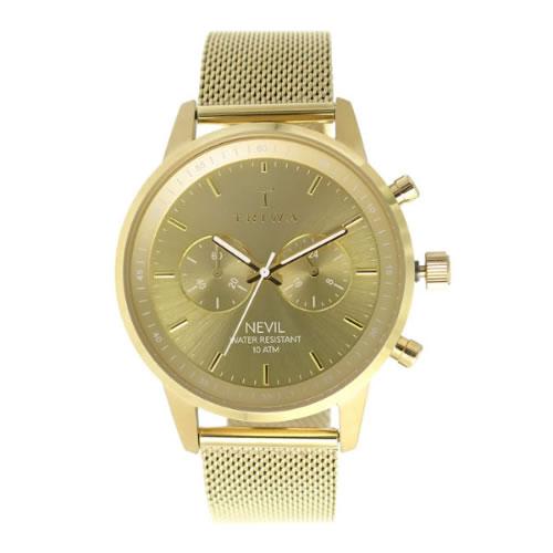 トリワ クオーツ ユニセックス 腕時計 NEST1042-ME021313 ゴールド / ゴールド></a><p class=blog_products_name