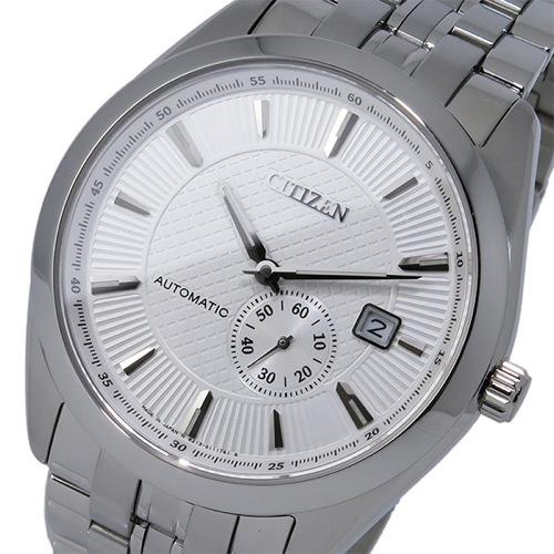 シチズン CITIZEN 自動巻き メンズ 腕時計 NJ0030-58A シェルホワイト