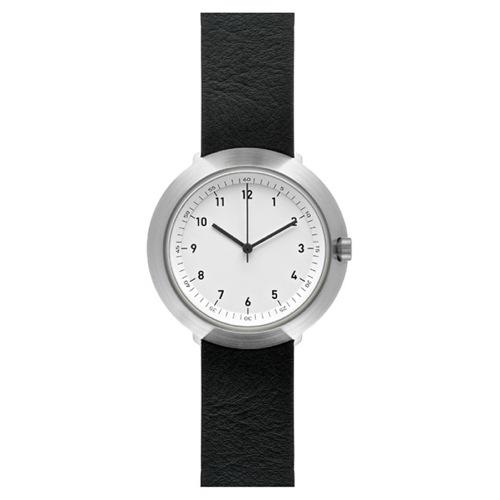 ピーオーエス POS ノーマル NORMAL フジ FUJI クオーツ 腕時計 NML020035(FUJI F43-01/20BL) ホワイト/ブラック