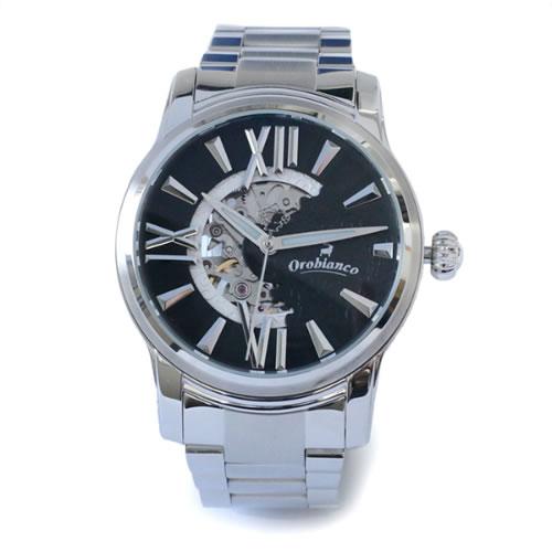 オロビアンコ ORAKLASSICA 腕時計 OR-0011-00 Silver/Black></a><p class=blog_products_name