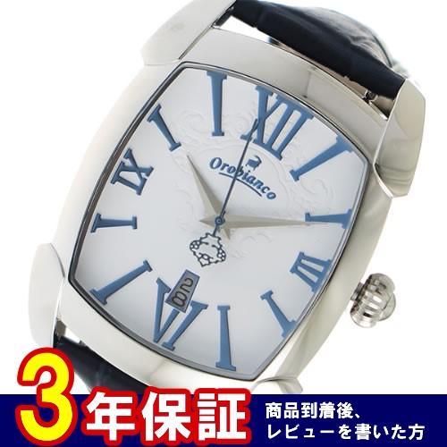 オロビアンコ クオーツ メンズ 腕時計 OR-0012-15BLWH ホワイト></a><p class=blog_products_name