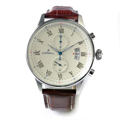 オロビアンコ ELETTO 腕時計 OR-0040-1 Brown/White></a><p class=blog_products_name