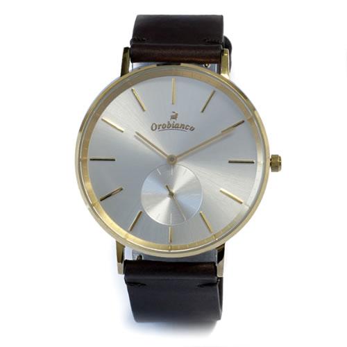 オロビアンコ semplicitus 腕時計 OR-0061-1 DarkBrown/Silver></a><p class=blog_products_name