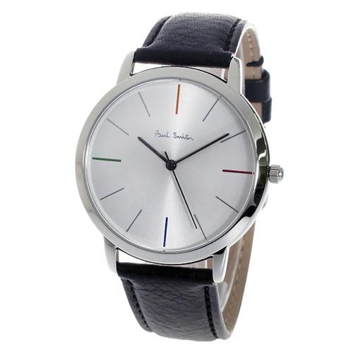 ポールスミスエムエー MA クオーツ メンズ 腕時計 P10051 シルバー