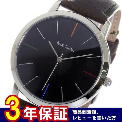 ポールスミスエムエー MA クオーツ メンズ 腕時計 P10052 ブラック