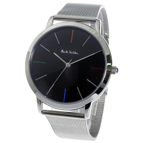 ポールスミスエムエー MA クオーツ メンズ 腕時計 P10055 ブラック