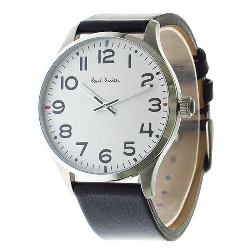 ポールスミス クオーツ メンズ 腕時計 P10065 ホワイト></a><p class=blog_products_name