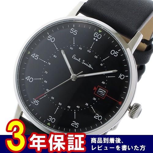 ポールスミス ゲージ クオーツ メンズ 腕時計 P10071 ブラック