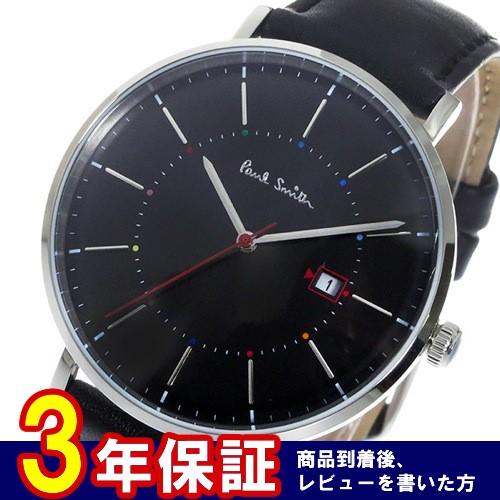 ポールスミストラック Track クオーツ メンズ 腕時計 P10085 ブラック