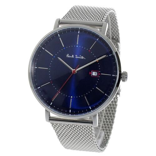 ポールスミストラック Track クオーツ メンズ 腕時計 P10088 ブルー