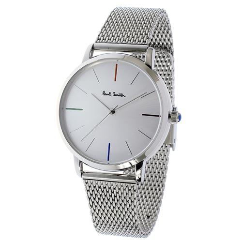 ポールスミス エムエー クオーツ メンズ 腕時計 P10102 シルバー