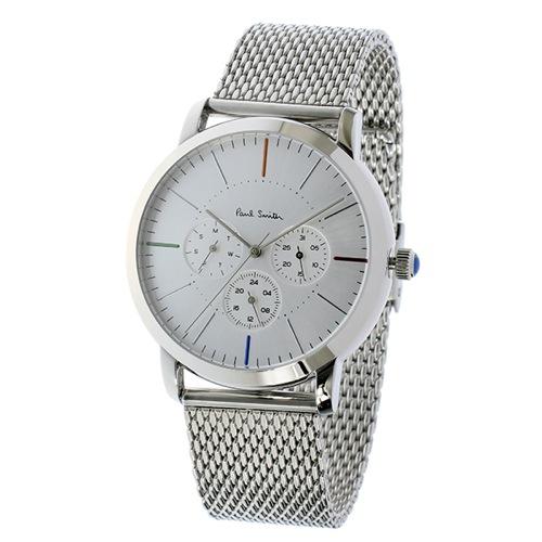 ポールスミス エムエー クオーツ メンズ 腕時計 P10111 シルバー