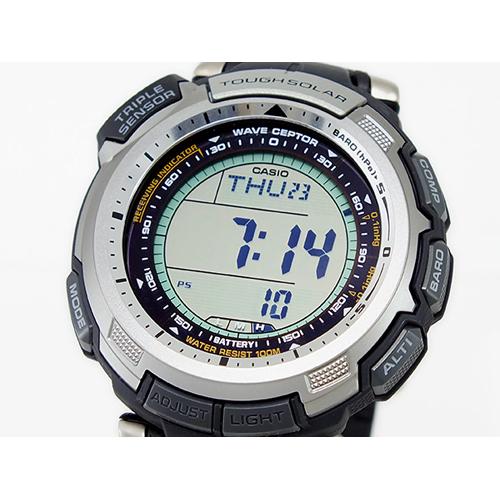 カシオ CASIO プロトレック PROTREK メンズ 電波ソーラー 腕時計 PRW-1300-1