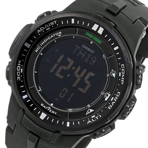 カシオ CASIO プロトレック ソーラー クオーツ メンズ 腕時計 PRW-3000-1A ブラック