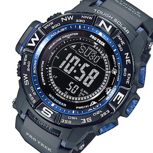 カシオ プロトレック 電波 ソーラー 腕時計 PRW-3500Y-1JF ブラック 国内正規
