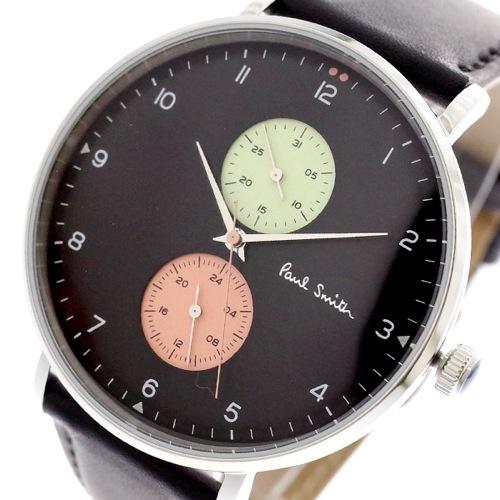 ポールスミス PAUL SMITH 腕時計 メンズ PS0070004 クォーツ ブラック></a><p class=blog_products_name