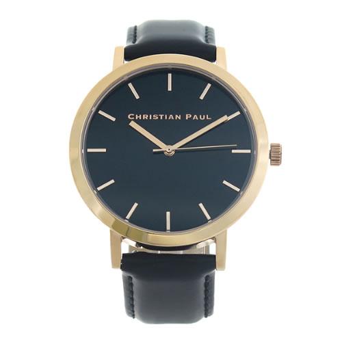 クリスチャンポール CHRISTIAN PAUL 腕時計 メンズ レディース クォーツ RBR4308 ロウ RAW ブラック></a><p class=blog_products_name