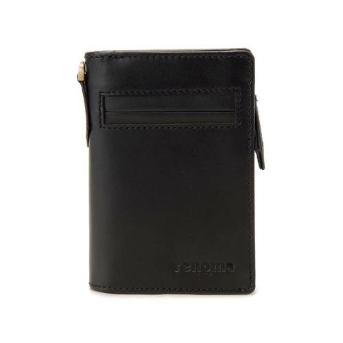 レノマ renoma コンパクトウォレット 二つ折り短財布 メンズ RE9002-001 ブラック