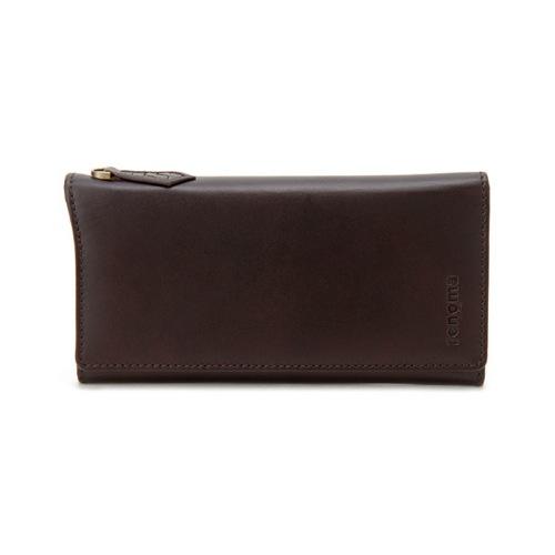 レノマ renoma ファスナー付 長財布 メンズ RE9003-002 ブラウン