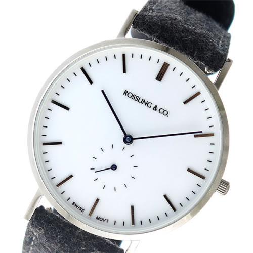 スリング CLASSIC 40MM Stirling クオーツ ユニセックス 腕時計 RO-001-002 ダークグレー/ホワイト></a><p class=blog_products_name