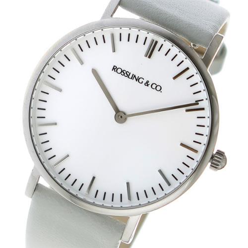 ロスリング CLASSIC 36MM light gray クオーツ ユニセックス 腕時計 RO-005-013 ライトグレー/ホワイト></a><p class=blog_products_name