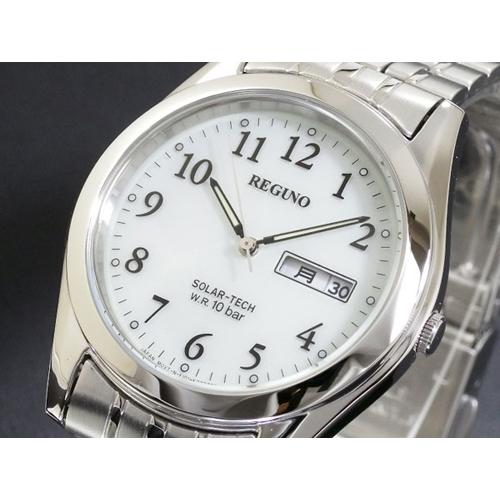 シチズン CITIZEN メンズ レグノ REGUNO ソーラー 腕時計 RS25-0091B SS
