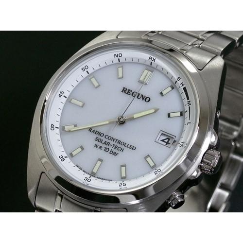 シチズン CITIZEN メンズ レグノ REGUNO 電波 ソーラー 腕時計 RS25-0342H SS