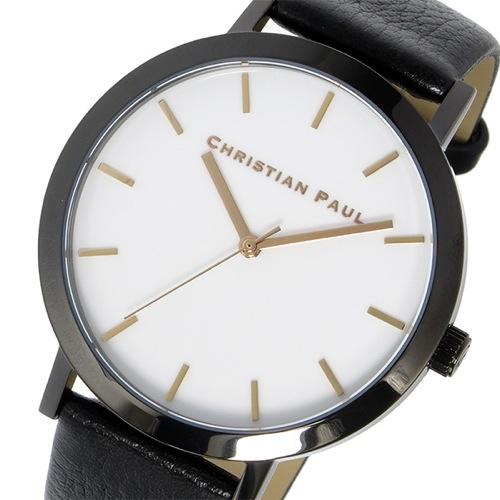 クリスチャンポール CHRISTIAN PAUL ロウ RAW クオーツ ユニセックス 腕時計 RW-04 ホワイト