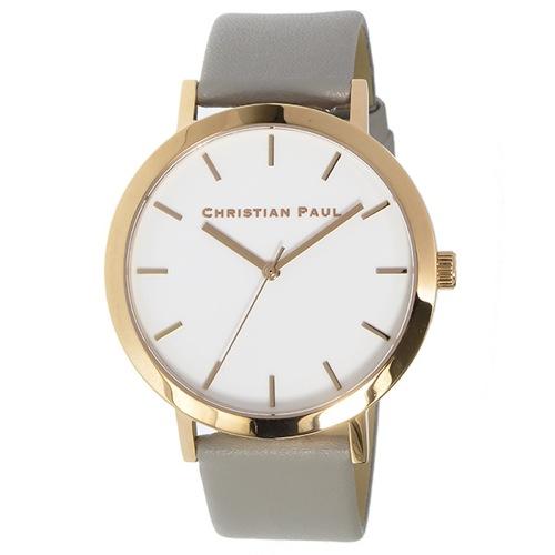 クリスチャンポール ロウ クオーツ ユニセックス 腕時計 RW-06 ホワイト