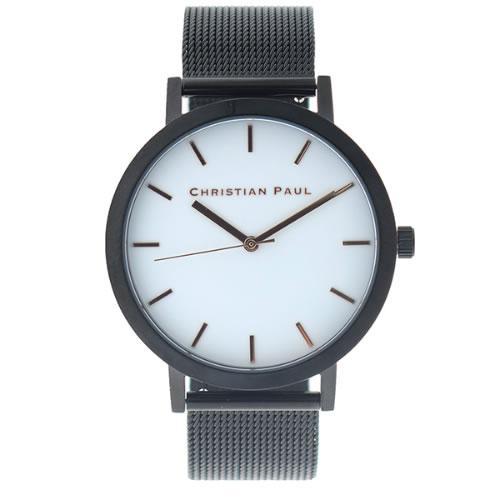 クリスチャンポール CHRISTIAN PAUL 腕時計 メンズ レディース クォーツ RWB4318 ロウ RAW ホワイト ブラック></a><p class=blog_products_name