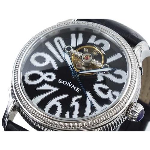 ゾンネ SONNE 自動巻き 腕時計 S150BK
