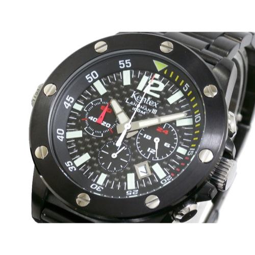 ケンテックス KENTEX ランドマン3 クロノグラフ 腕時計 S409X-04