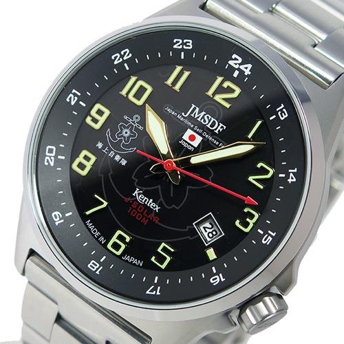 ケンテックス KENTEX JSDFソーラースタンダード メンズ 腕時計 S715M-06