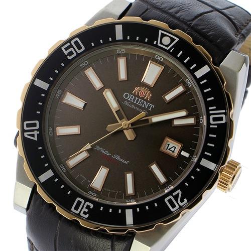 オリエント 自動巻き メンズ 腕時計 SAC09002T0 ブラウン