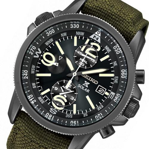 セイコー プロスペックス クオーツ メンズ 腕時計 SBDL033 オリーブグリーン 国内正規