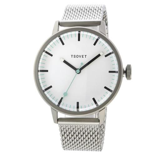 ソベット SVT-SC38 クオーツ ユニセックス 腕時計 SC111501-40 ホワイト></a><p class=blog_products_name