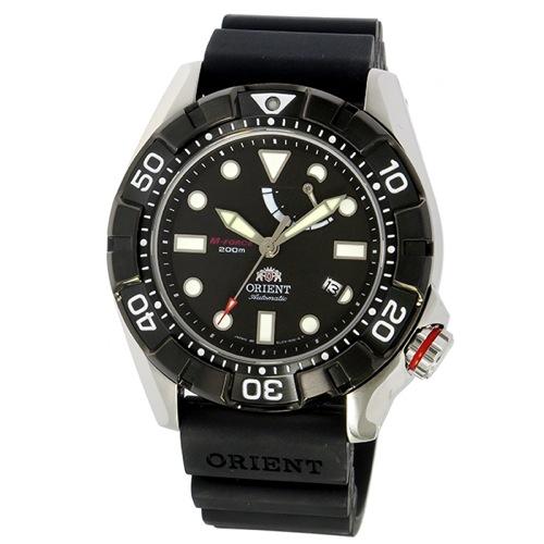 オリエント エムフォース 自動巻き メンズ 腕時計 SEL03004B0 ブラック