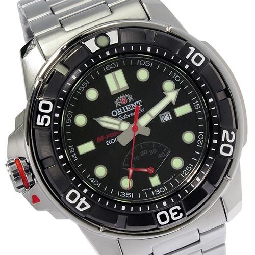 オリエント エムフォース 自動巻き メンズ 腕時計 SEL06001B0 (WV0071EL) ブラック