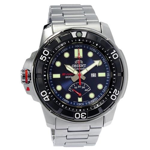 オリエント エムフォース 自動巻き メンズ 腕時計 SEL06001D0 (WV0081EL) ネイビー